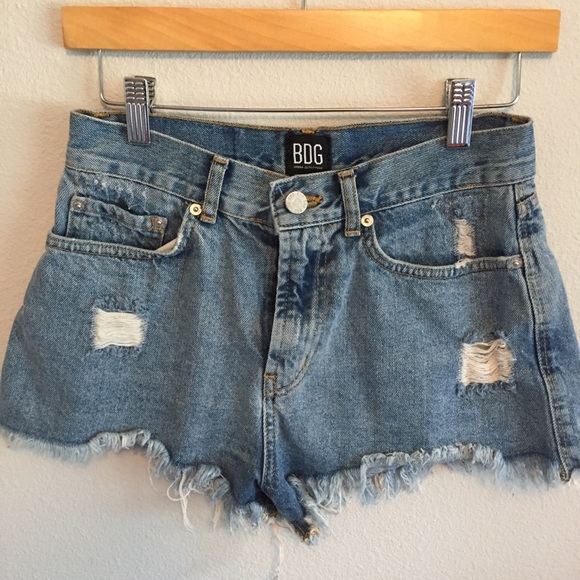 b3ef23c015 BDG Shorts   Uo Highrise Denim Cutoff Size 28   Poshmark